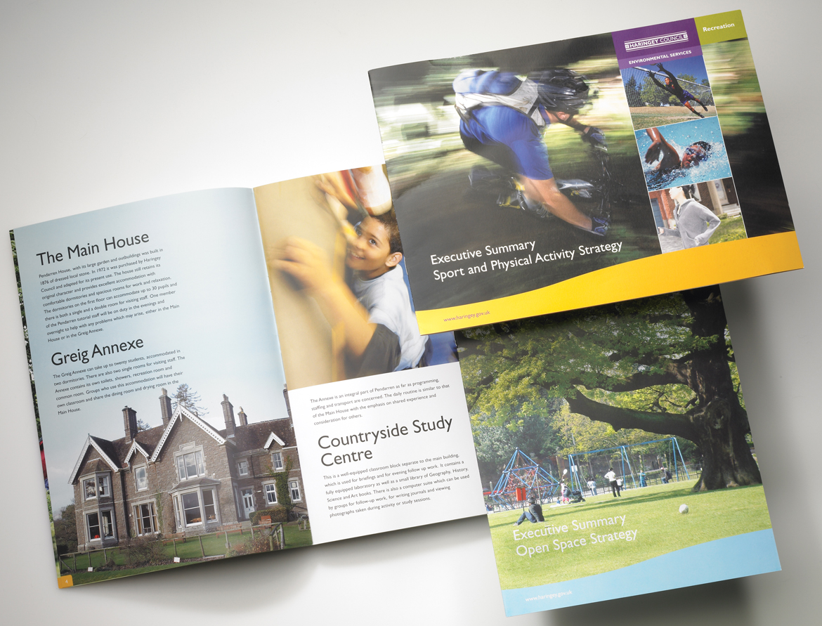 Haringey Council Brochures